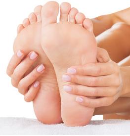 Hornhaut Prävention durch Fußpflege