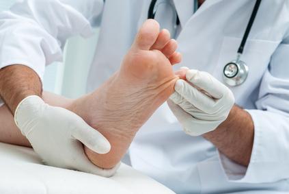 Medizinische Fußpflege - Podologe
